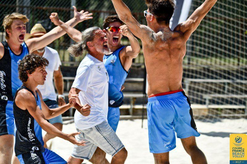 Le VCHP champion de France de Beach-Volley